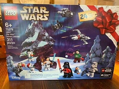 LEGO Star Wars Advent Calendar 75279 Building Kit for Kids, New2020 (311 Pieces)