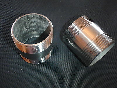 Np200-020 Stainless Steel Nipple 2 Npt X 2 Long Pipe