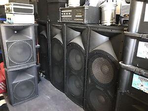 DJ Equipment and lightning. Glenwood Blacktown Area Preview