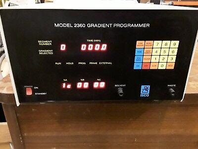 Isco Model 2360 Gradient Programmer