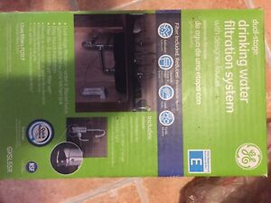 2 stage Brand new filtration system with faucet for $40