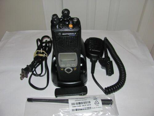 Motorola XTS5000 II VHF 136-174MHz 9600 Radio AES-256 AES-GCM H18KEF9PW6AN