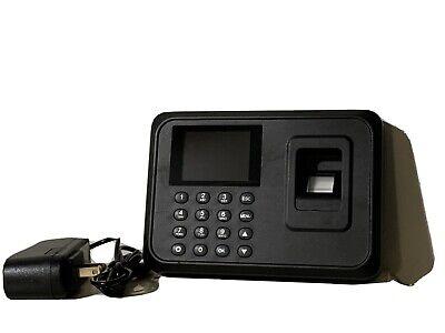 A6 Biometric Fingerprint Time Attendance Clock Employee Recorder Equipment 2.4e