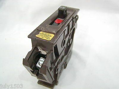 Wadsworth 15 Amp HACR Single Pole Circuit Breaker Big Body Small Lug   a for sale  Park Rapids