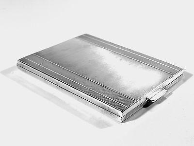 835er Silber ZIGARETTENETUI ° 30er Jahre Etui ° art deco silver case