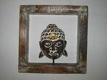 BRAND NEW  WOODEN FRAMED BUDDHA HEAD Kingsley Joondalup Area Preview