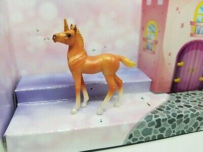 BREYER Stablemate Unicorn Foal Mystery Surprise #6052 Orange Standing Foal