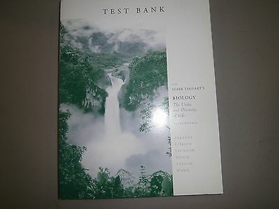 Test Bank For Starr Taggarts Biology  Unity   Diversity Of Life  10Th Ed  2004