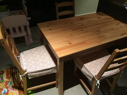Ikea Dining table & 3 chairs