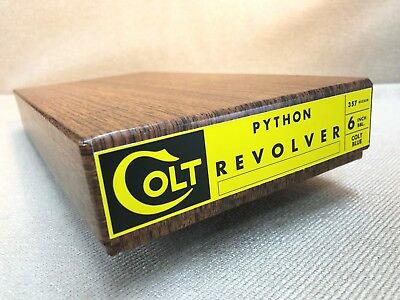Colt Python Vintage Colt Gen I Box & Paperwork 2 1/2, 4 and 6 inch 1956-1965