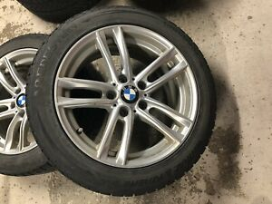 BMW WINTER TIRES WITH MAGS 225/50 R17