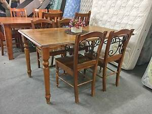 SOLD, MORE COMING - 5 pcs FRENCH dining table & chairs QUICK SALE Perth Perth City Area Preview