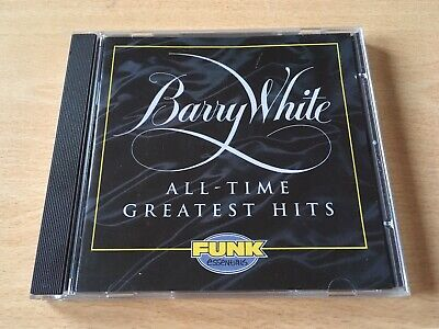 Barry White - All Time Greatest Hits - Very Best of CD