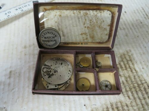 Vintage Watch Parts Lot for Art Steampunk Craft