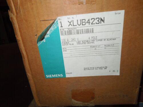Ite Siemens Xlvb423n 100a 3ph 4w 240v Fusible Switch Bus Plug New Surplus