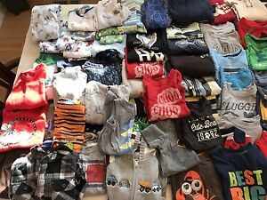 Large lot of boys clothes 18-24mths