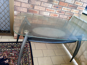 Glass dinning table Lakemba Canterbury Area Preview