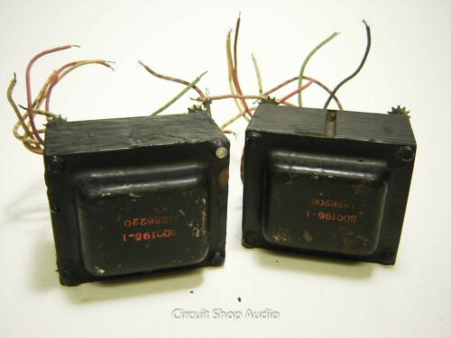 Pair of Vintage Tube Power Transformers / 800195-1 -- KT