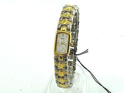 SEIKO Women SZZ756 Mother Of Pearl Dial 2Tone Bracelet SRP $350