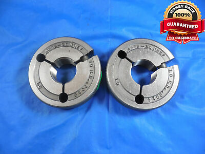 1516 20 Unef Thread Ring Gages .9375 Go No Go Pds .9050 .9014 .9375-20 Nef