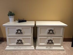 Refinished end/side tables