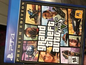 GTA 5  PREMIUM EDITION for PS4