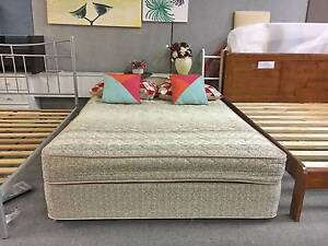 TODAY DELIVERY COMFORTABLE Queen ensemble bed & mattress FOR SALE Belmont Belmont Area Preview