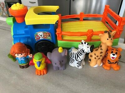Fisher Price -  Little People Musical Zoo Train w/6 Figures