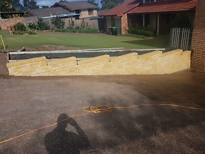 Retaining wall specialist East Branxton Cessnock Area Preview