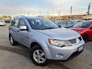 2008 Mitsubishi Outlander ZG MY08 LS Silver 6 Speed Constant Variable Wagon Cannington Canning Area Preview