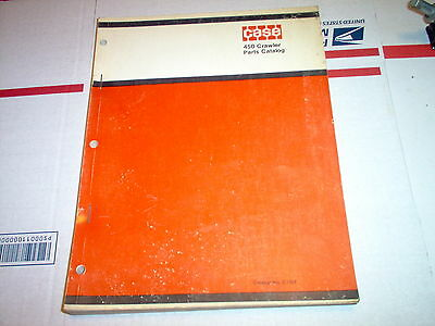 Case 450 Crawler Parts Catalog Original