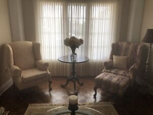 Chippendale living room set (will sell individual pieces)