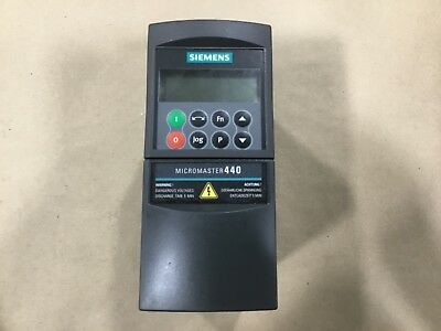 Siemens Micromaster 440 6se6440-2ab12-5aa1 Invertor Drive 55a28