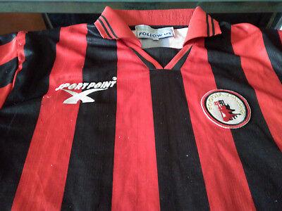 Maglia Foggia #10 Brienza 1999-00 Shirt Jersey Trikot Maillot C2 Bari image