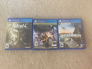 PS4 Games for Sale! $50 or less