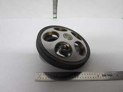 Microscope Part Nosepiece Nikon Japan For Optics As Is Binf5-02