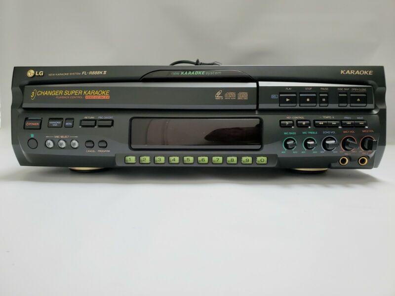 LG FL-R888K II Karaoke Player