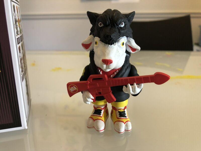Pearl Jam Ron English Black And Red Falla Sheep