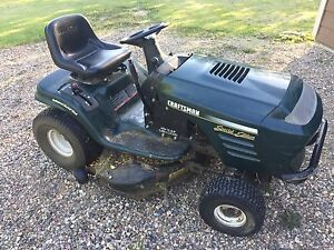 Craftsman Lawn Tractor with mulcher - PENDING PICK UP