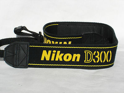 NIKON D300 CAMERA NECK STRAP  , AN-D300, used for sale  Shipping to Nigeria