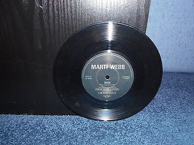 "7"" 45rpm Marti Webb - Ben / Nothing Ever Changes"