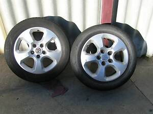 Holden Astra 2005 AH 2 MAGS+TYRES SUIT SPARES $100 FIRM Hamilton Hill Cockburn Area Preview