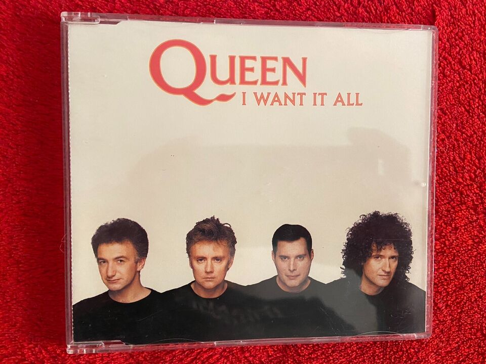 QUEEN I Want It All CD Single UK Picture Disc Edition in Döbeln