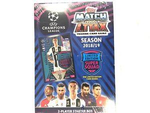 2018/19 TOPPS MATCH ATTAX SOCCER UEFA 2-PLAYER STARTER BOX