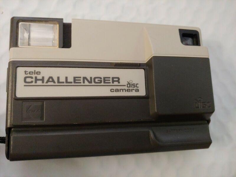 KODAK Tele Challenger Disc Camera With case Vintage