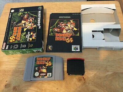 Donkey Kong 64 with Expansion Pak N64 Boxed Complete