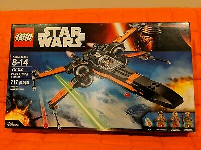 LEGO 75102 Star Wars Poe's X-Wing Fighter  New & Sealed