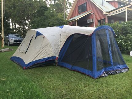 Oztrail 12 Person Family Tent & Oztrail 4 Person Dome Tent | Camping u0026 Hiking | Gumtree Australia ...