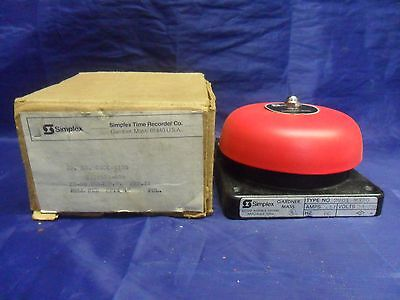 New Simplex 2901-9320 Bell Red Sptx 4 24-28 D.c Amp 11 Cat 624-856 Nib