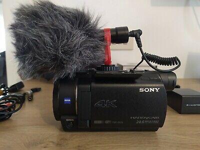 Sony FDR-AX33 Videocamera 4K + KIT REPORTER